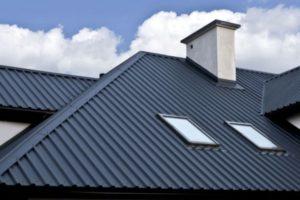 Как определить минимальный угол наклона крыши из профнастила