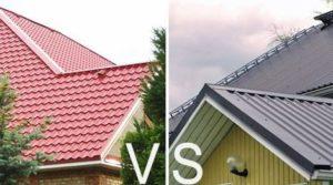 Металлопрофиль или металлочерепицу лучше выбирать для крыши