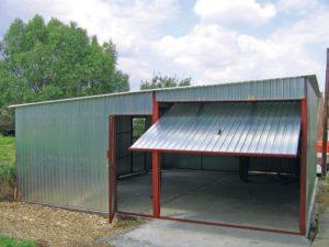Монтаж гаража из металлопрофиля своими руками пошагово