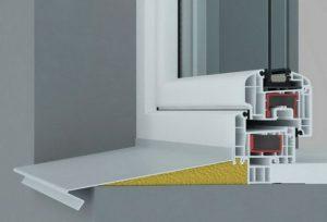 Монтаж отливов на пластиковых окнах в домашних условиях