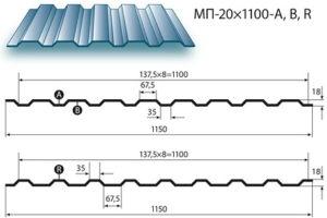 Особенности монтажа обрешетки и профнастила МП 35