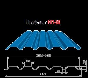 Технические характеристики и особенности профнастила МП 35