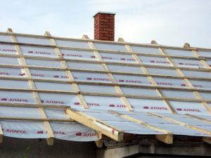 Как сделать гидроизоляцию крыши дома под профнастил