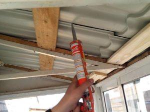 Как сделать герметик для крыши из металла своими руками