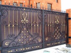 Работы по изготовлению и сборке ворот