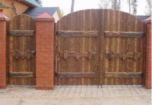 Как правильно сделать кованые ворота с калиткой своими руками