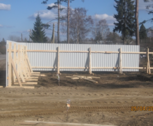 Как правильно сделать временное ограждение строительной площадки