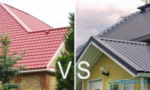 Ондулин или металлочерепицу лучше выбрать для крыши