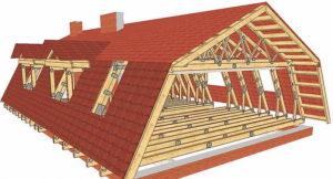 Как сделать ломаную крышу своими руками