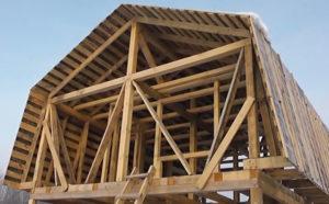 Технология стропильной системы мансардной крыши