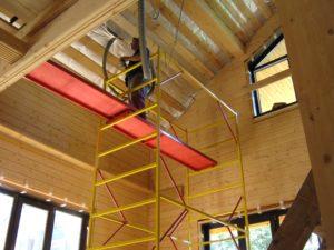 Утепление крыши деревянного дома своими руками
